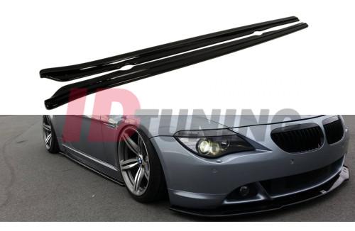Накладки на пороги BMW 6 E63/E64 Дорестайл