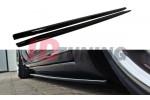 Накладки на пороги Audi S8 D3
