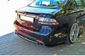 Комплект сплиттеров задних Saab 9-3 Turbo X