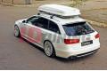 Сплиттер задний Audi A6 C7 S-Line AVANT