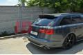 Комплект сплиттеров задних Audi A6 C7 S-Line AVANT