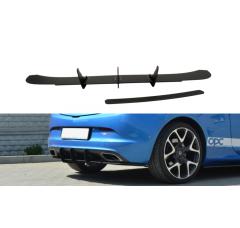 Накладка на бампер задний Opel Astra J OPC/VXR