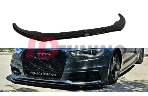 Сплиттер передний Audi A6 C7 S-Line вар.1