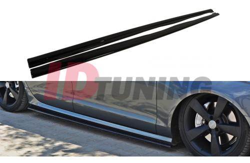 Накладки на пороги Audi A6 C7 S-Line