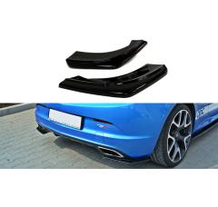 Комплект сплиттеров задних Opel Astra J OPC/VXR