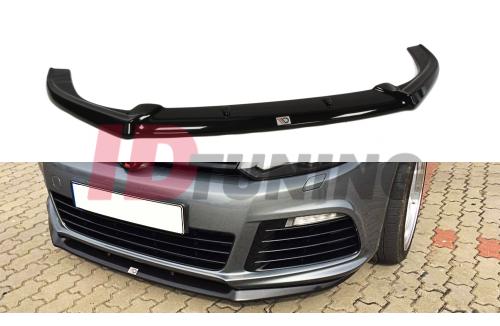 Сплиттер передний Volkswagen Golf VI R (Cupra look)