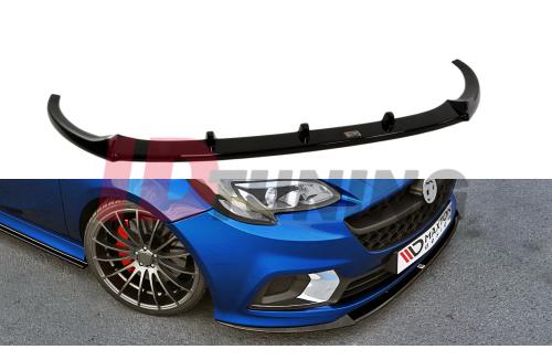 Сплиттер передний Opel Corsa E OPC/VXR NURBURG