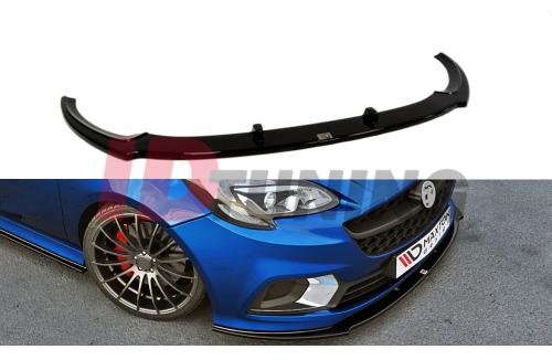 Сплиттер передний Opel Corsa E OPC/VXR