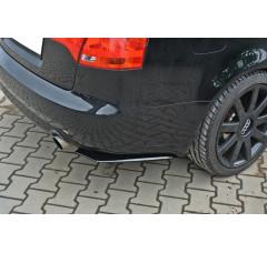 Комплект сплиттеров задних Audi A4 B7