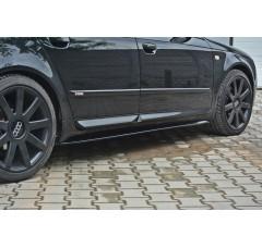 Накладки на пороги Audi A4 B7