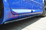 Накладки на пороги Audi S4 B6