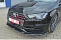 Сплиттер передний Audi S3 SPORTback/Audi A3 8V S-Line