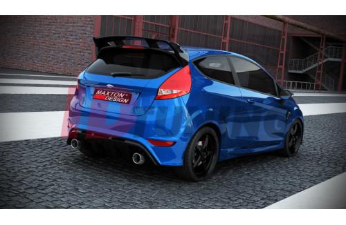 Спойлер на крышу Ford Fiesta MK7 Рестайл (RS look)