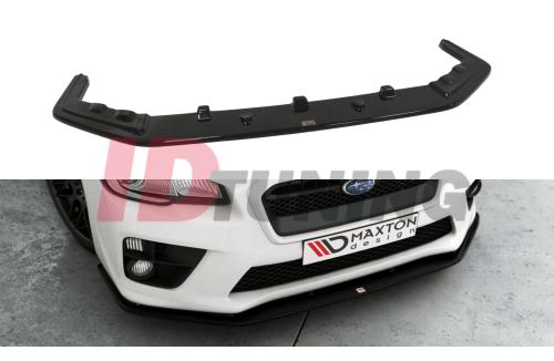 Сплиттер передний Subaru WRX STI вар.2