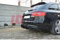 Накладка на бампер задний Audi A4 B8 AVANT Рестайл