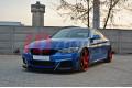 Накладки на пороги гоночные BMW 4 F32 M-Pack
