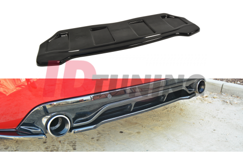 Сплиттер задний Peugeot 308 II GTI (без стоек)