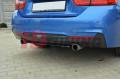 Сплиттер задний BMW 4 F32 M-Pack (без стоек)