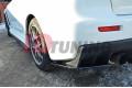 Комплект сплиттеров задних Mitsubishi Lancer Evo X