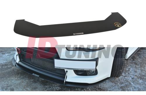 Сплиттер передний гоночный Mitsubishi Lancer Evo X вар.2