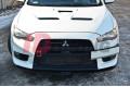 Сплиттер передний гоночный Mitsubishi Lancer Evo X вар.3