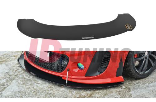 Сплиттер передний гоночный Seat Leon MK2 MS-Design вар.2