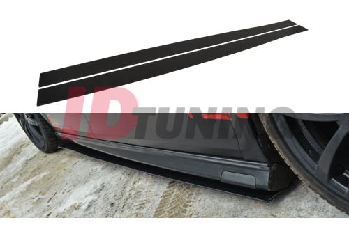 Накладки на пороги гоночные Seat Leon MK2 MS-Design
