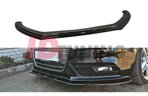 Сплиттер передний Audi A4 B8 Рестайл вар.1