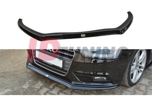 Сплиттер передний Audi A4 B8 Рестайл вар.2