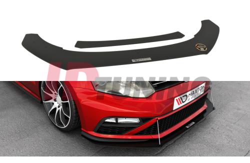Сплиттер передний гоночный Volkswagen Polo MK5 GTI Рестайл