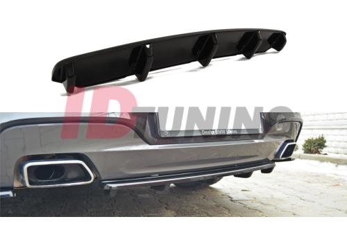Сплиттер задний BMW 6 Gran Coupe M-Pack (со стойками)
