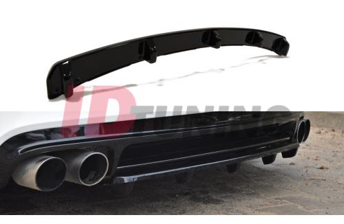 Сплиттер задний Audi TT MK2 RS (со стойками)