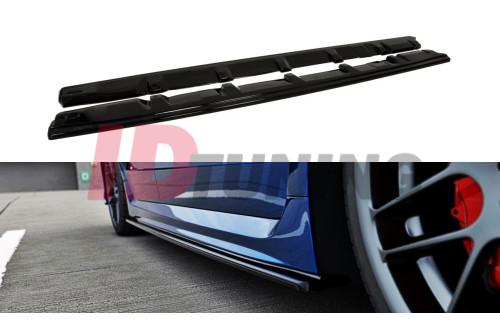 Накладки на пороги Subaru WRX STI