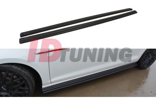 Накладки на пороги Volkswagen Golf VII GTI