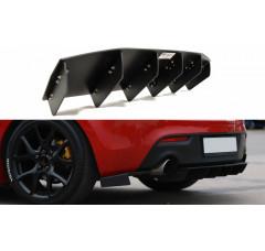 Накладка на бампер задний Mazda 3 MK2 MPS