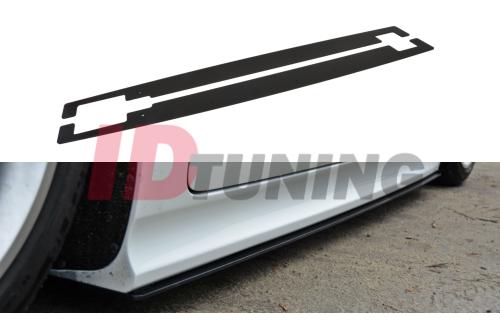 Накладки на пороги гоночные Audi TT MK2 RS