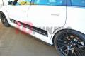 Накладки на пороги Audi RS4 B5