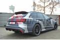 Комплект сплиттеров задних Audi RS6 C7