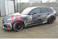 Накладки на пороги Audi RS6 C7