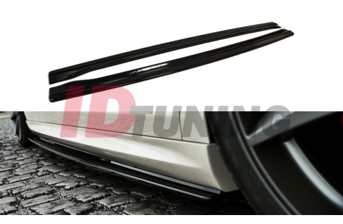 Накладки на пороги Volkswagen Passat CC R36 R-Line Дорестайл