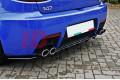 Сплиттер задний Alfa Romeo 147 GTA (со стойками)