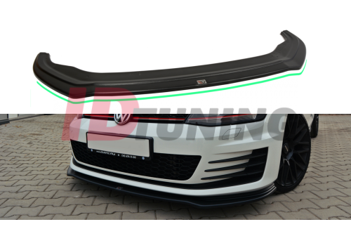 Сплиттер передний Volkswagen Golf VII GTI вар.2