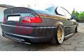 Сплиттер задний BMW 3 E46 M-Pack Купе (без стоек)