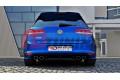 Накладка на бампер задний & Комплект сплиттеров задних Volkswagen Golf 7 R Хэтчбек