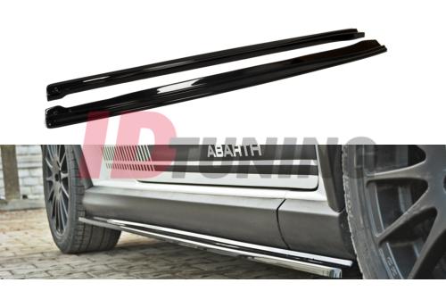 Накладки на пороги Fiat Grande Punto Abarth
