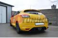 Накладка на бампер задний Renault Megane MK3 RS