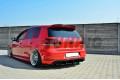 Накладка на задний бампер & Комплект сплиттеров задних Volkswagen Golf VI GTI/35TH