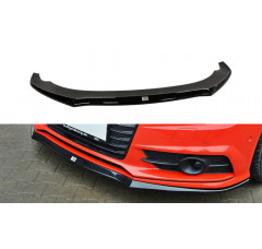 Сплиттер передний Audi A7 S-Line Рестайл