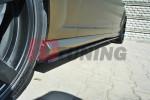 Накладки на пороги Mercedes S-класс W221 AMG LWB