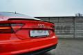 Накладка на спойлер Audi A7 S-Line Рестайл